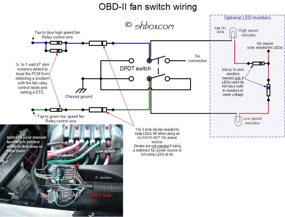 2003 Accord Trailer Wiring Harness Problem With Manual Fan Switch Throwing 2 Codes Ls1lt1
