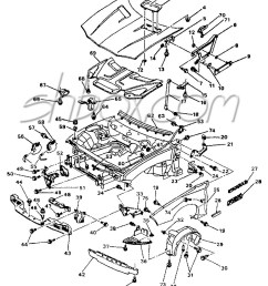 4th gen lt1 f body tech aids drawings exploded views 95 camaro suspension diagram labeled source chrysler rear  [ 886 x 1128 Pixel ]