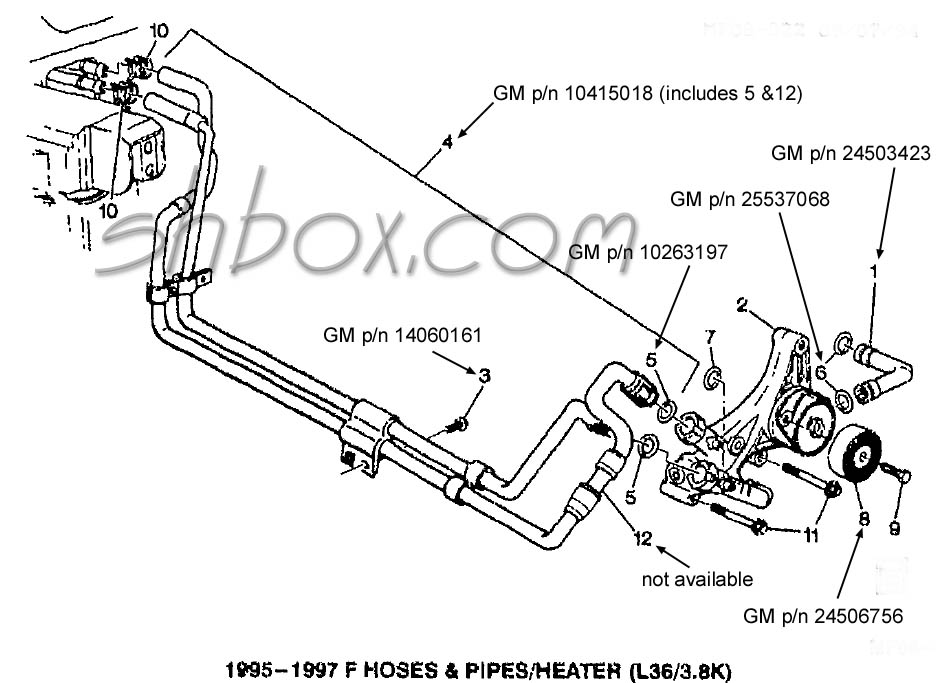 On Heater Blower Cooling System Parts Location Index Car