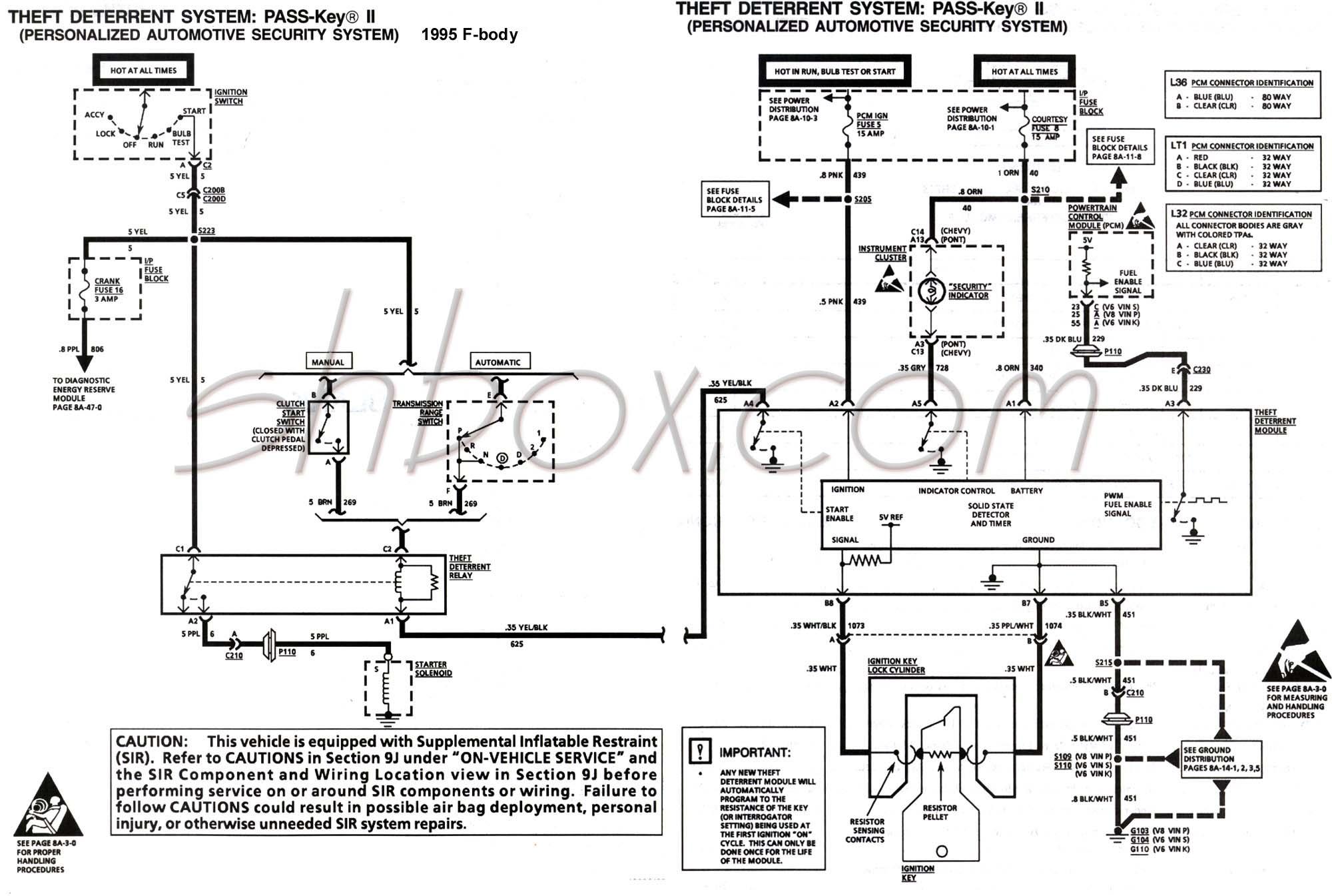 1991 camaro vats wiring diagram schematic