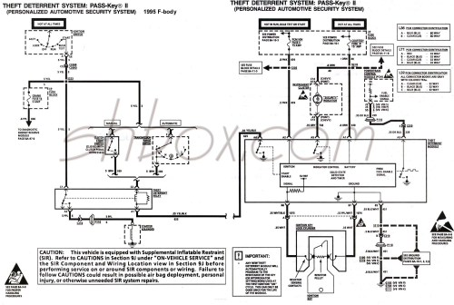 small resolution of 4th gen lt1 f body tech aids a diagram for chevy silverado ignition wires 94 camaro ignition wire diagram