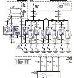 smfi controlled devices and injectors schematic 1993 ecm pinouts [ 1081 x 1486 Pixel ]