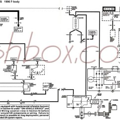 1996 Toyota 4runner Wiring Diagram 2002 Isuzu Rodeo Stereo 4th Gen Lt1 F Body Tech Aids Starter And Charging Schematic