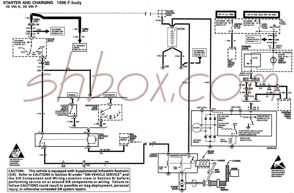 medium resolution of 4th gen lt1 f body tech aids 1994 camaro wiring diagram schematic