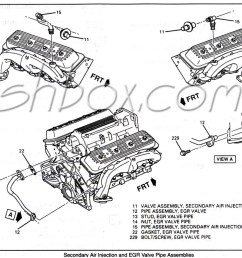 4th gen lt1 f body tech aids drawings exploded views lt1 engine parts diagram air [ 1090 x 917 Pixel ]