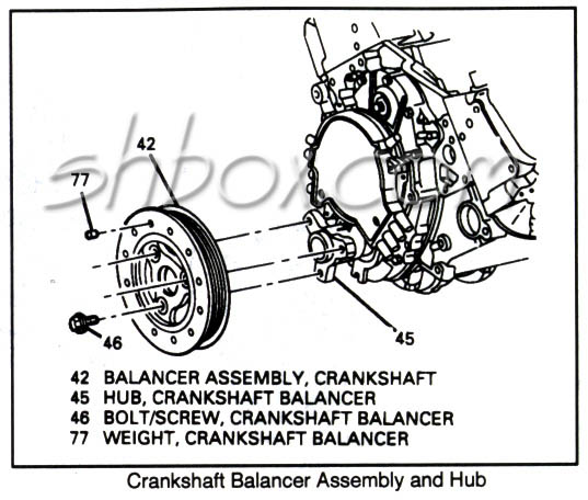 Diagram For 1994 Lt1 Harmonic Balancer, Diagram, Free