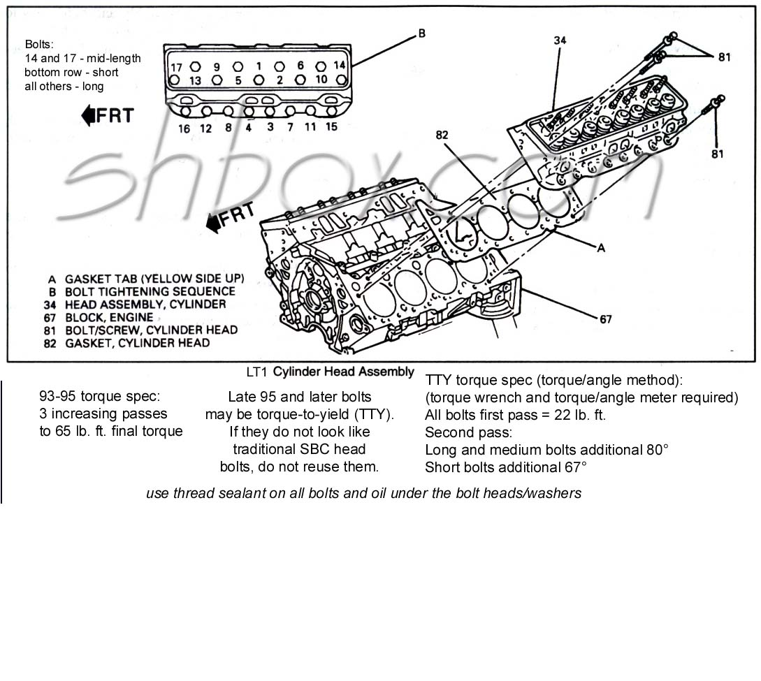 hight resolution of cylinder head mounting exploded view