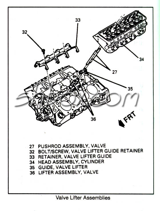Engine Lifter Diagram, Engine, Free Engine Image For User