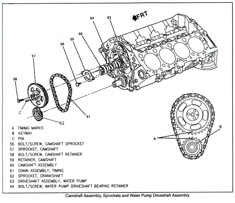 medium resolution of timing chain assembly diagram