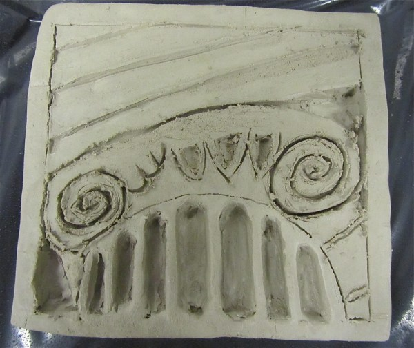 Art Clay Relief Tiles