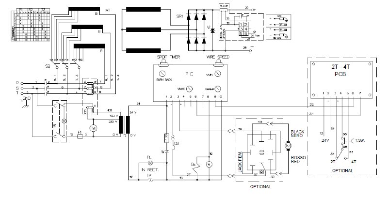 2 Phase Welding Machine Circuit Diagram : 39 Wiring