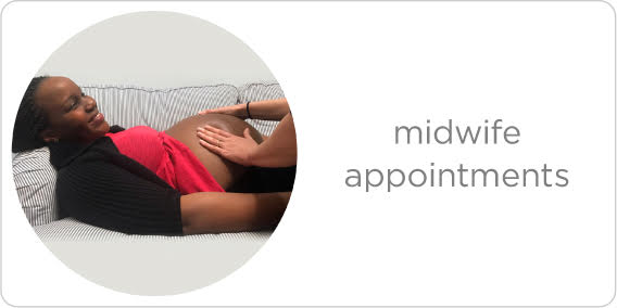 expert midwifery appointments (including midwifery bundles