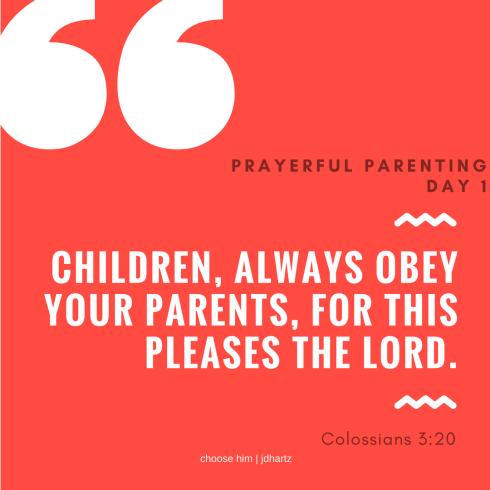 PrayerfulParentingDay1