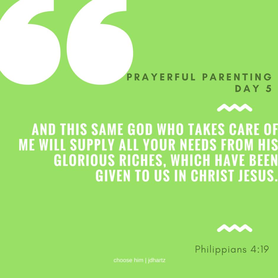 PrayerfulParentingDay5