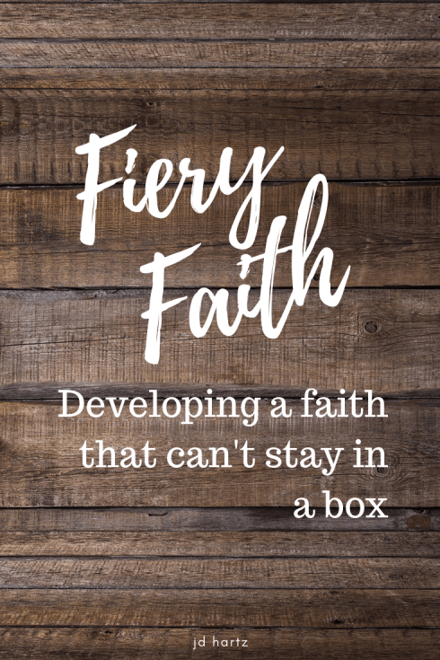 Faith doesn't stay in a box