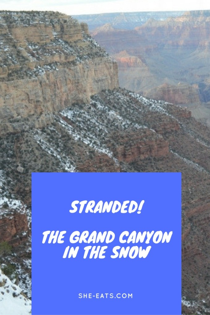 Stranded in the Grand Canyon / SHE-EATS