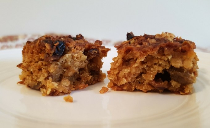 Lemon Raisin Flapjacks