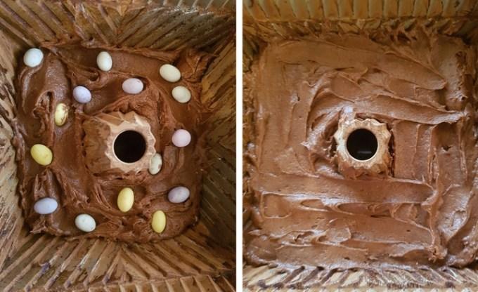 Easter Chocolate Cake Bundt // GoodEggFoodie