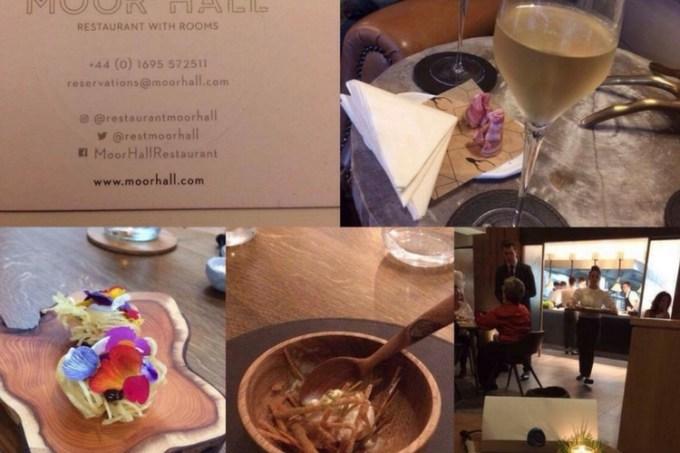 Moor Hall Lancashire fine dining