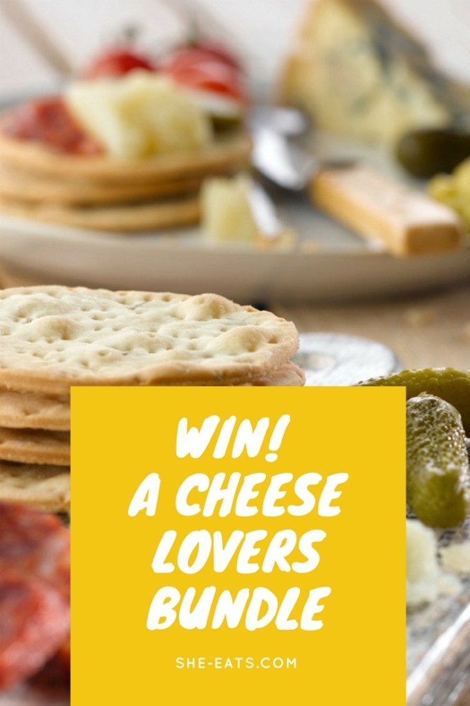Win a cheese lovers bundle / SHE-EATS
