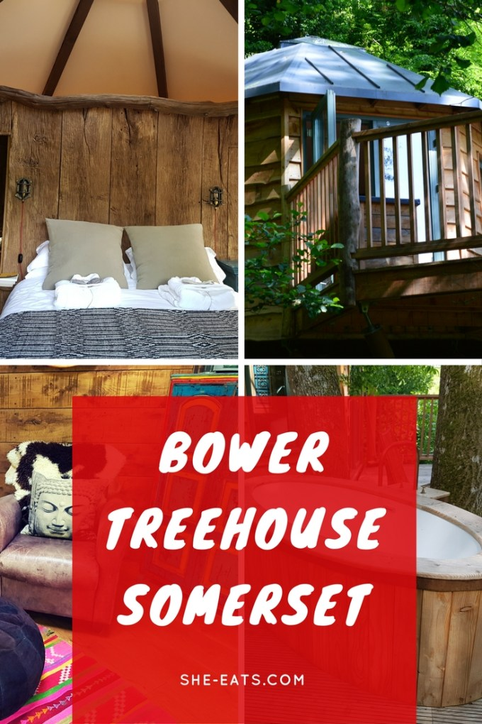 The Bower Treehouse / Treehouse holiday / she-eats