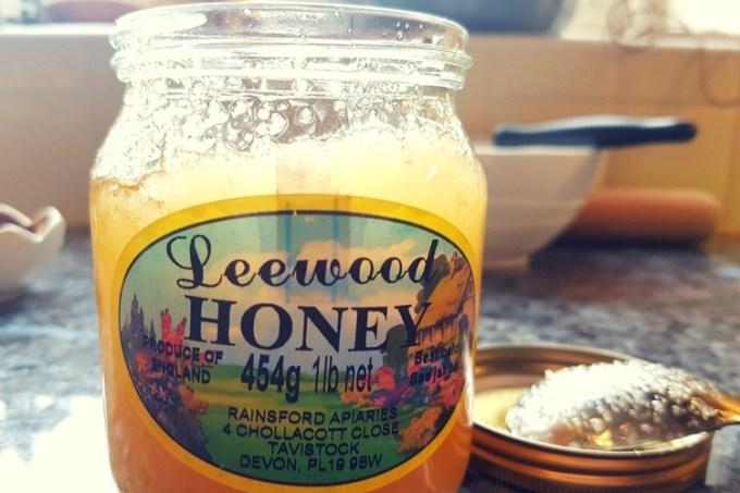 Honey ginger palmiers / leewood honey / she-eats