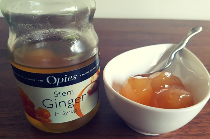 Honey ginger palmiers / opies stem ginger / she-eats