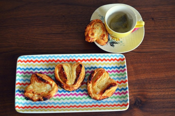 Honey ginger palmiers / she-eats
