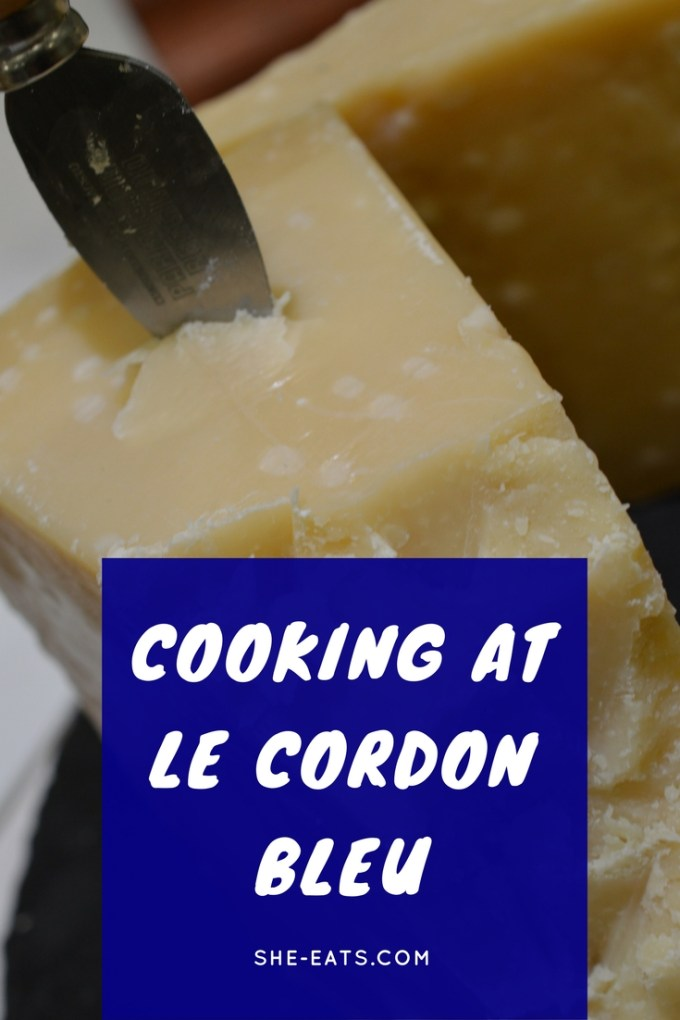 Le Cordon Bleu with parmigiano reggiano / SHE-EATS