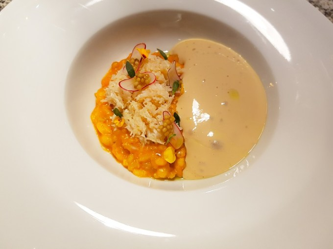 Crab risotto / Grafene, Manchester / SHE-EATS