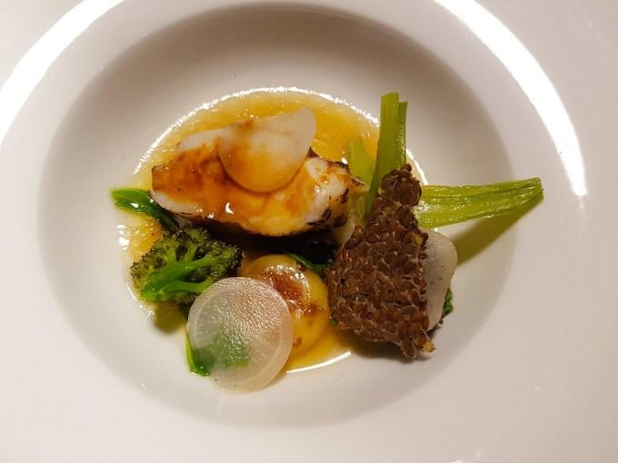 A monkfish dish at Grafene Manchester