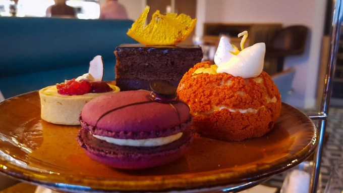Sweet treats on an afternoon tea / Afternoon tea Mamucium Manchester / She-Eats.com