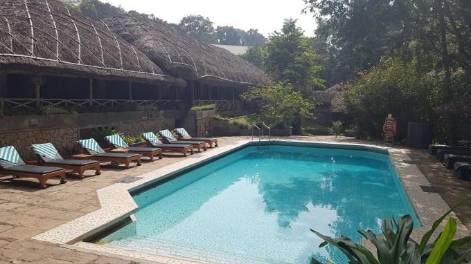 Pool at Spice Village Thekkady / Thekkady Periyar Kerala India / She-Eats.com /