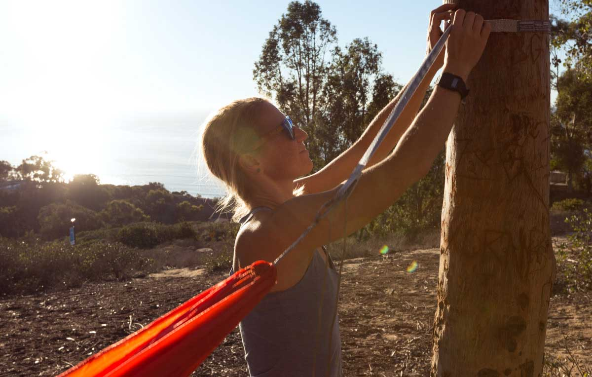 ENO Sub7 Hammock  She Explores Women in the outdoors