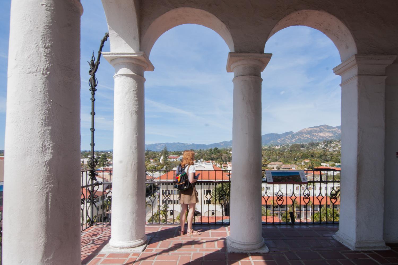 Santa Barbara Courthouse Tower View
