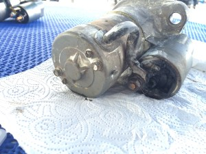 the starter motor, happy to have an replacement