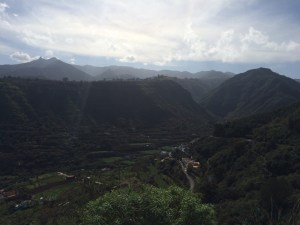 Gran Canaria consits of one valley after the other