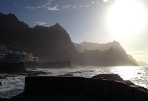 ganz im Nordosten der Insel liegt Ponta do Sol, hier sieht man die Sonne auf und auch untergehen