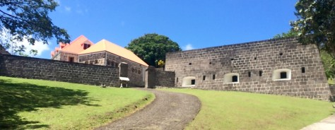 Fort Shirley in the Cabrits