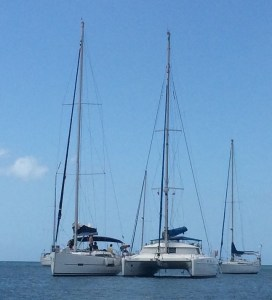 She San is taken over by a charter yacht with german crew...