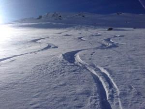 Skitour Avers Graubünden Roman