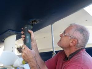 Removal of Rudder bearing housing