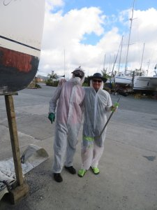 Personal Protective Equipment in the boatyard