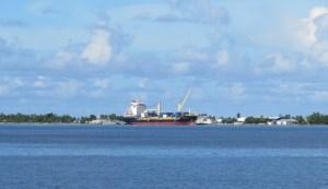 Funafuti Wharf