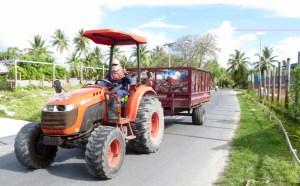 Tuvalu rubbish truck