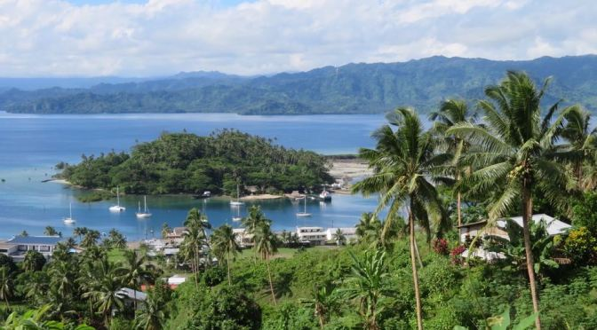 Über Savusavu in den Norden nach Tuvalu und Kiribati