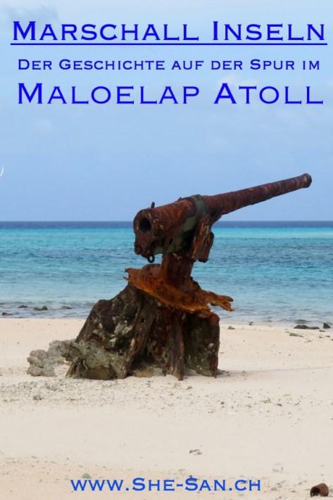 Maloeloap Atoll in den Marschall Inseln