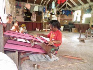 Lavalava weaving
