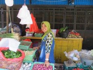 Fresh produce market Sorong