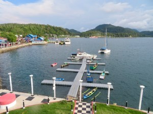 Dinghy dock in Sabang